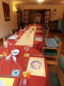 The table is ready!