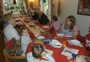 Diwali lunch at Ealing house